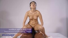 Sexy Black stud gives Indian babe Marina Maya Thumb