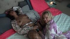 Naughty amateur lesbians masturbating and licking pussy Thumb