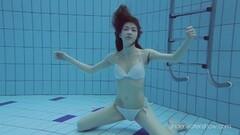 Kinky Roxalana Cheh sexy redhead underwater Thumb