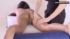 Horny Asian Alga Ruhum massaged Thumb
