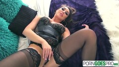 Cute Christiana Cinn is pounded by a big dick Thumb