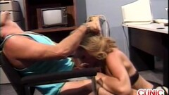 Hot blonde nurse sucking cock Thumb
