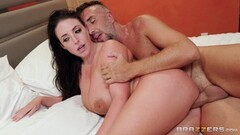 Hottie Angela White hammered in her cute little ass hole Thumb