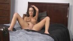 Hot Brunette Caught Masturbating On Cam Thumb