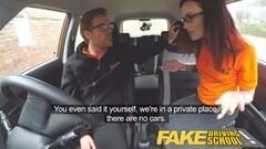 Fake Driving School Teen gets Creampied Thumb