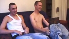 Naked Amateurs Dion and Casper Jerking Off Thumb