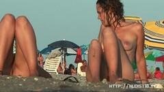 Amateur nude beach voyeur sluts enjoying the beach Thumb
