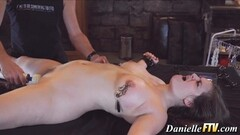 Dominated amateur gets her pussy vibed Thumb