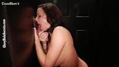 Gloryhole cock sucking Veronica Avluv Thumb
