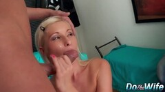 Blonde Vanessa Hell loves hard cock Thumb
