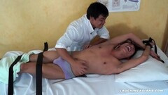Asian Boy Tickle Therapy trio Thumb