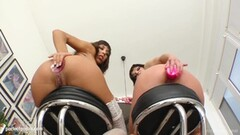 Shanis and Jeny Baby fisting lesbian scene by Fist Flush Thumb